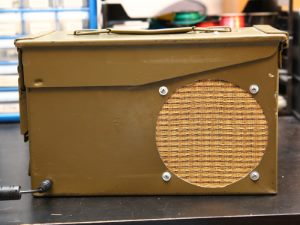 Ammunition Can Speaker